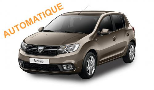 DACIA SANDERO ESSENCE AUTOMATIQUE